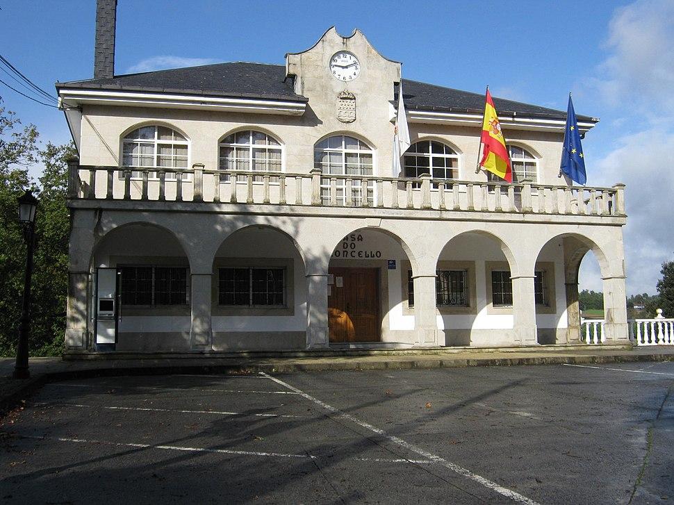 Casa do Concello de Santiso