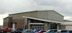 Cascade Senior High School new entrance - Turner Oregon.jpg