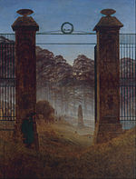 Caspar David Friedrich - The Cemetery - Google Art Project.jpg