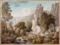 Cassas Vue de la vallée du Kadisha, Liban.png