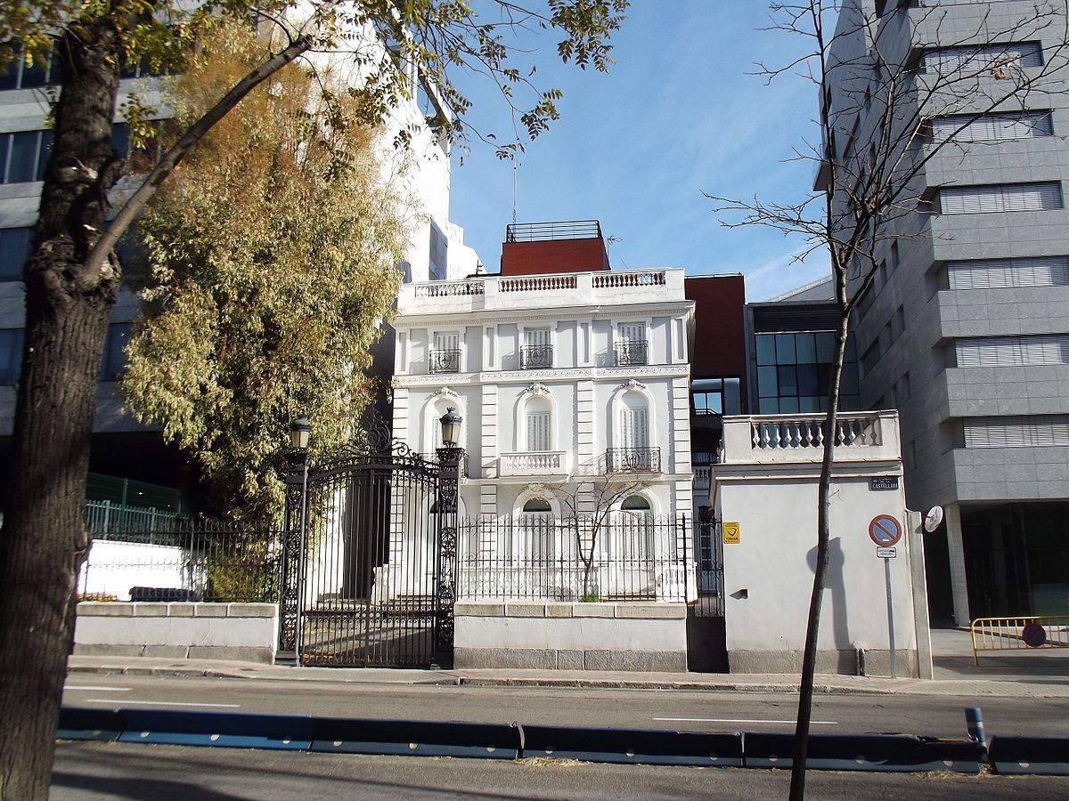 Palacete de moreno ben tez wikipedia la enciclopedia libre - Casa palacete 1822 ...