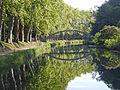 Castets-en-Dorthe, canal latéral à la Garonne, pont de Mazérac, 1er pont au départ de Castets-en-Dorthe.JPG