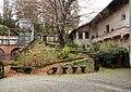 Castiglione olona, palazzo branda, esterno, giardino 01.jpg