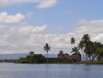 Spanish conquest of Guatemala - The Castillo de San Felipe was a Spanish fort that guarded the entrance to Lake Izabal.