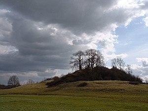 Fenny Castle - Image: Castle Hill, Fenny Castle geograph.org.uk 83383