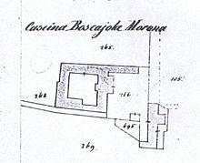 Mappa della Cascina Boscajola del Catasto di Carolo VI