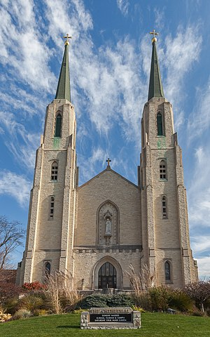 Roman Catholic Diocese of Fort Wayne–South Bend - Cathedral of the Immaculate Conception in Fort Wayne