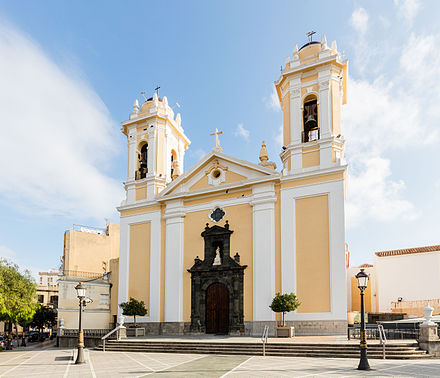 Cathedral of St. Mary of the Assumption, completed in 1726. Catedral de Ceuta, Ceuta, Espana, 2015-12-10, DD 04.JPG