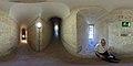 Catedral de Murcia - Rampas de subida a la torre y anchura de muro.jpg