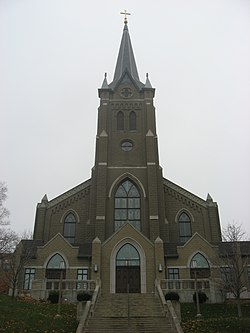 Cathedral of Saint Mary of the Immaculate Conception in Indiana.jpg