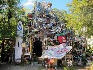 Keep Austin Weird - Image: Cathedral of junk austin
