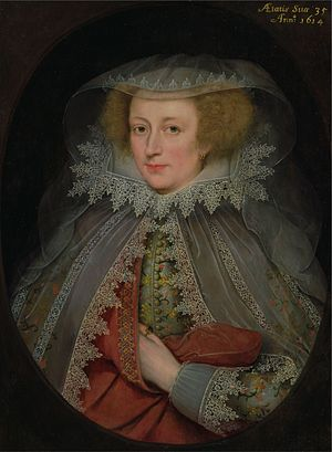 Thomas Jermyn (died 1645) - Image: Catherine Killigrew Lady Jermyn Marcus Gheeraerts II (Yale)
