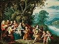 Caullery Govaerts Heilige Familie mit muszierenden Engeln.jpg