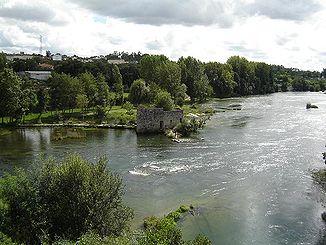 Cávado at the Ponte do Bico