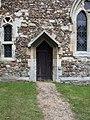 Caxton church - chancel door - geograph.org.uk - 884164.jpg