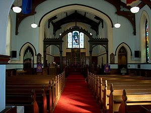 Christ Church Royal Chapel - Image: Ccchurchinterior