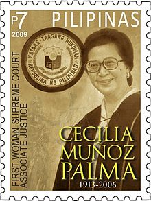 Cecilia Muñoz-Palma 2009 stamp of the Philippines.jpg
