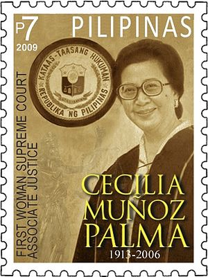Cecilia Muñoz-Palma - Image: Cecilia Muñoz Palma 2009 stamp of the Philippines