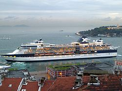 Die Celebrity Constellation in Istanbul