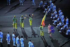 Benin at the 2016 Summer Paralympics - Cerimônia de abertura dos Jogos Paralímpicos Rio1
