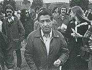 Cesar chavez visita a colegio cesar chavez