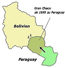 Gran Chaco Was The Site Of War 1932 35 In Which Bolivia Lost Most Disputed Territory To Paraguay
