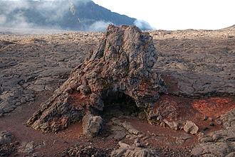 Hornito - A hornito on the island of Réunion