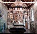 Chapelle Saint-Nicodème (XVIème siècle) retable du maître-autel Bretagne à Pluméliau 2016 FL 06.jpg