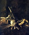 Chardin - Two Rabbits with Game Bag and Powder Flask, circa 1724-1728.jpg
