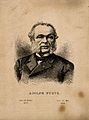Charles Adolphe Wurtz. Etching by J. Egez. Wellcome V0006393.jpg
