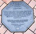 Charles Brasch memorial plaque in Dunedin.jpg