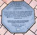 Charles Brasch memorial plaque in Dunedin.jpg