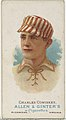 Charles Comiskey, Baseball Player, from World's Champions, Series 1 (N28) for Allen & Ginter Cigarettes MET DP838208.jpg