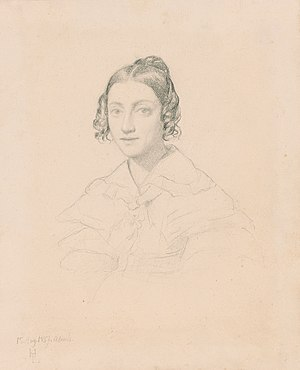Ignaz Moscheles - Moscheles married Charlotte Emden (Henri Lehmann,1837)