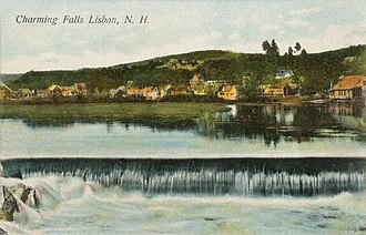 Lisbon, New Hampshire - Falls in 1906
