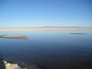 Cordillera Domeyko - Cerro Quimal in the distance