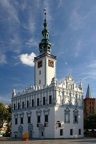 Chełmno - Town Hall in Chełmno
