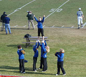 Saskatoon Hilltops - Cheerleaders