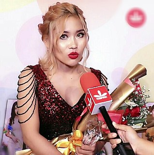 Cherry Thin Burmese singer