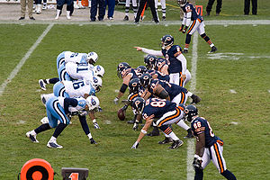 2008 Tennessee Titans season - Tennessee on defense at Chicago
