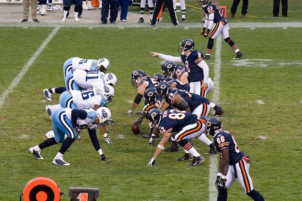 Chicago Bears vs Tennessee Titans 11-09-08