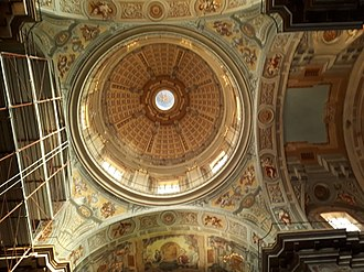Chieti - The dome of the Church of Saint Francis