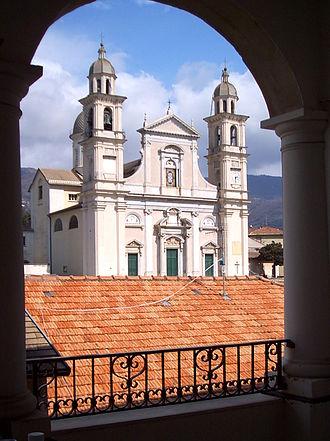 Lavagna - Basilica of Santo Stefano.
