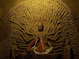 Leshan - Buddhist carvings in Leshan, Sichuan, China.
