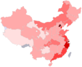 ChineseProvinces byPerCapitaDIH.png