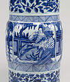 Chinese - Pair of Vases with European Women - Walters 491913, 491914 - Detail C.jpg