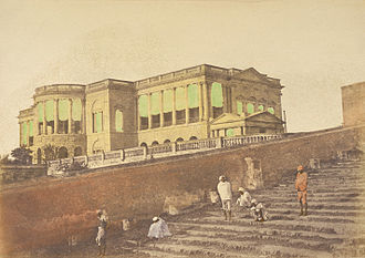 Pierre Cuillier-Perron - Perron's palatial home at Chinsurah