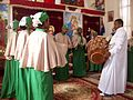 Choir, Ethiopian Orthodox Church, Brisbane.JPG