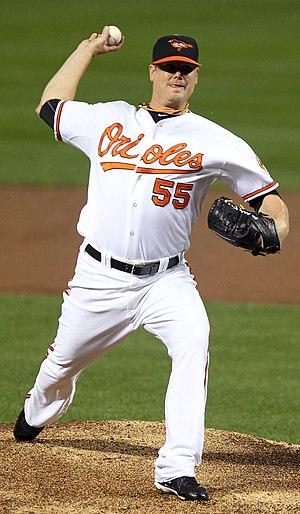 Chris Jakubauskas - Jakubauskas with the Baltimore Orioles