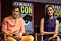 Chris Pine & Gal Gadot at the 2018 Comic-Con International.jpg